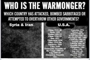Warmongering