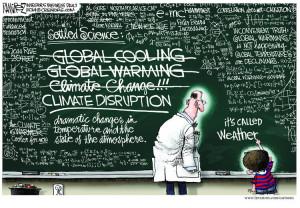 Climate-Disruption blackboard
