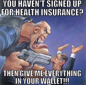 Obamacare extortion
