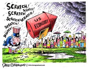 US Economy rocket