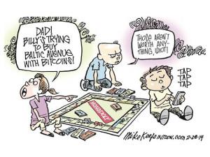Monopoly Bitcoins