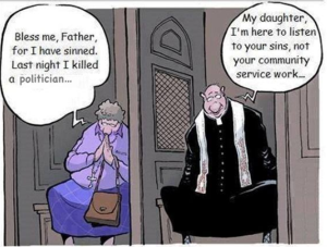 church confessional