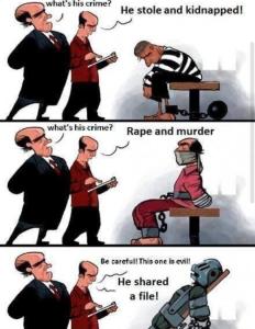 file sharing crime