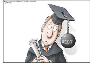 College Debt Ball And Chain