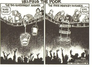 Helping The Poor Government vs. Free Market