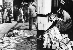 1923-weimar-republic-hyperinflation-sweeping-up-currency-in-street-burning