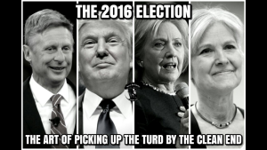 2016-election-is-the-art-of-picking-up-the-turd-by-the-clean-end