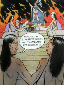 Aztec Human Sacrifice, It May Not Be A Perfect System 1